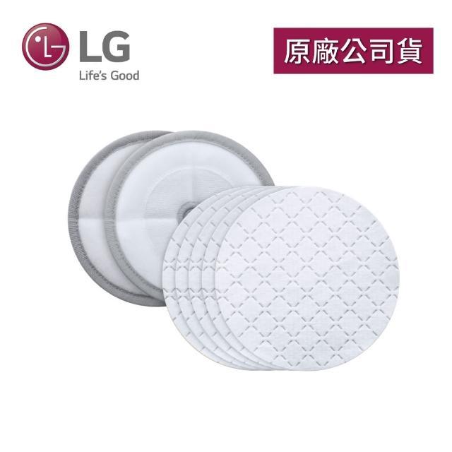 【LG 樂金】拋棄式濕拖布墊套組VMP-DK01N(A9吸塵器智慧雙旋濕拖吸頭專用)