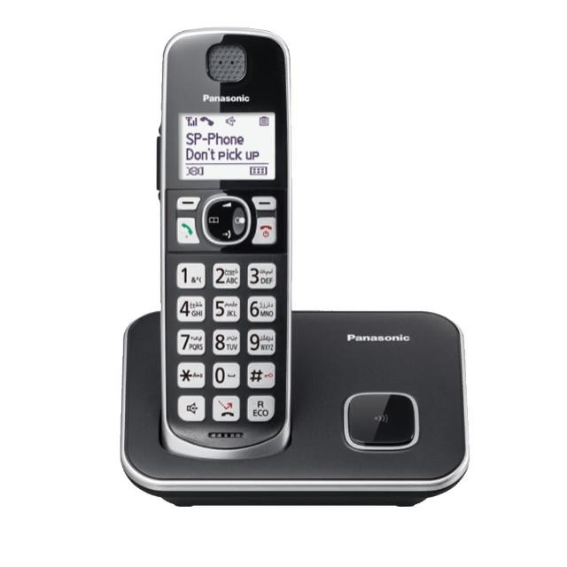 【Panasonic 國際牌】KX-TGE610TW中文顯示輸入數位無線電話(TGE610)