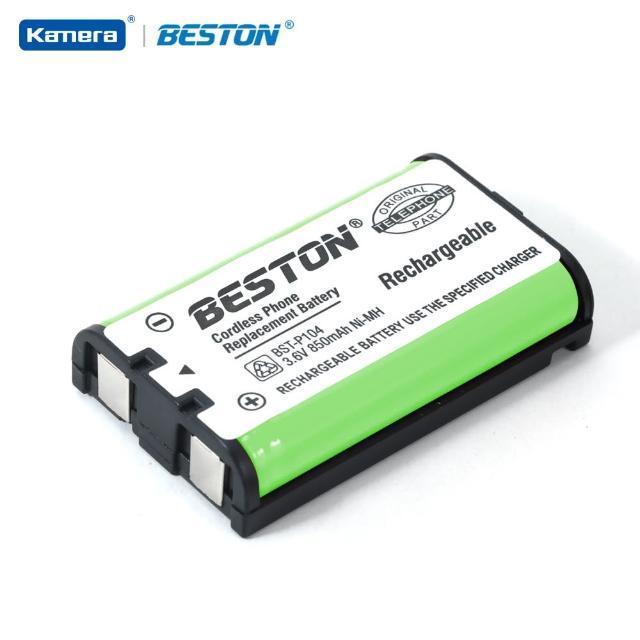【BESTON】無線電話電池 for Panasonic HHR-P104(BST-P104)
