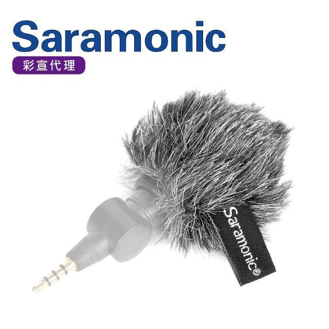 【Saramonic 楓笛】XM1-WS 麥克風戶外防風毛套(彩宣公司貨)
