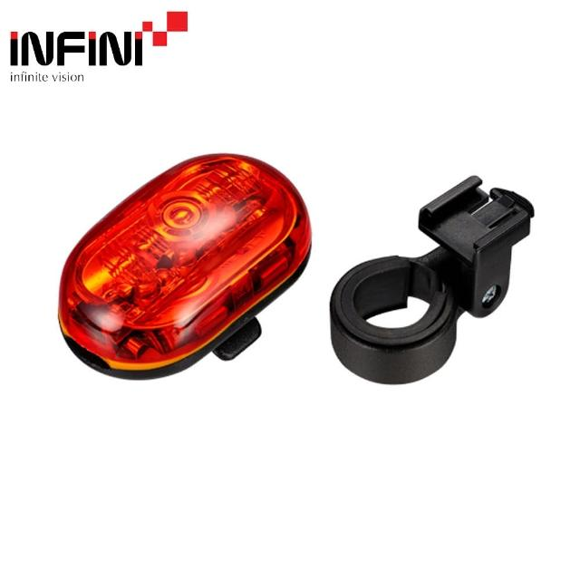 【INFINI】5紅光LED光滑面4段後燈
