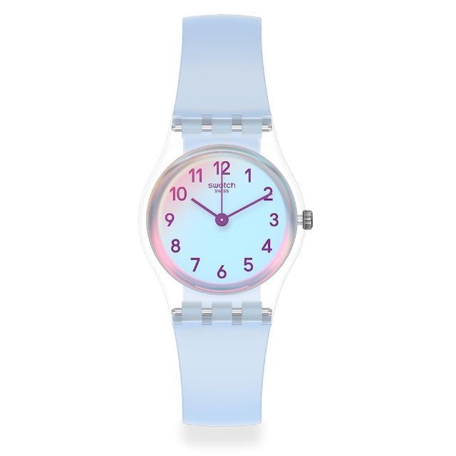 【SWATCH】菁華系列手錶 CASUAL BLUE 自在天藍(25mm)