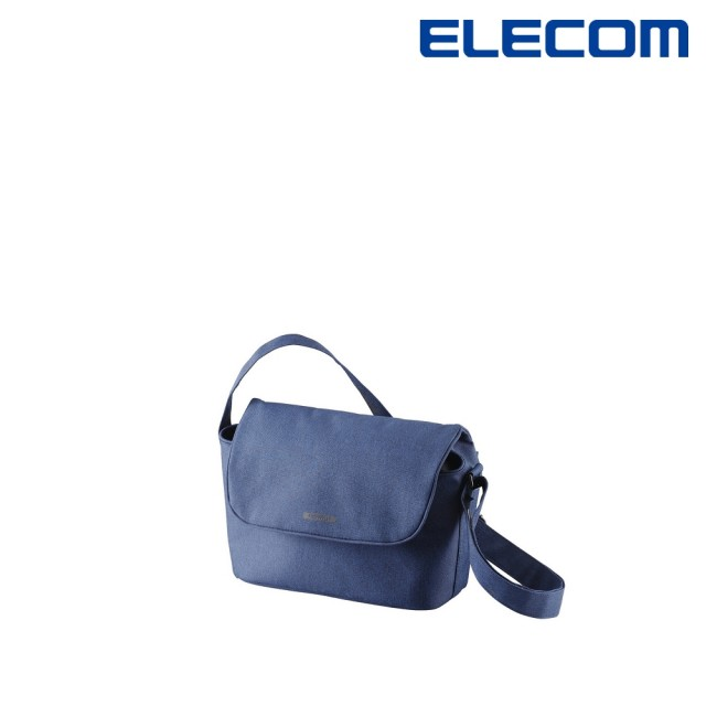 【ELECOM】normas休閒多功能側背包-海軍藍(DGB-S031NV)