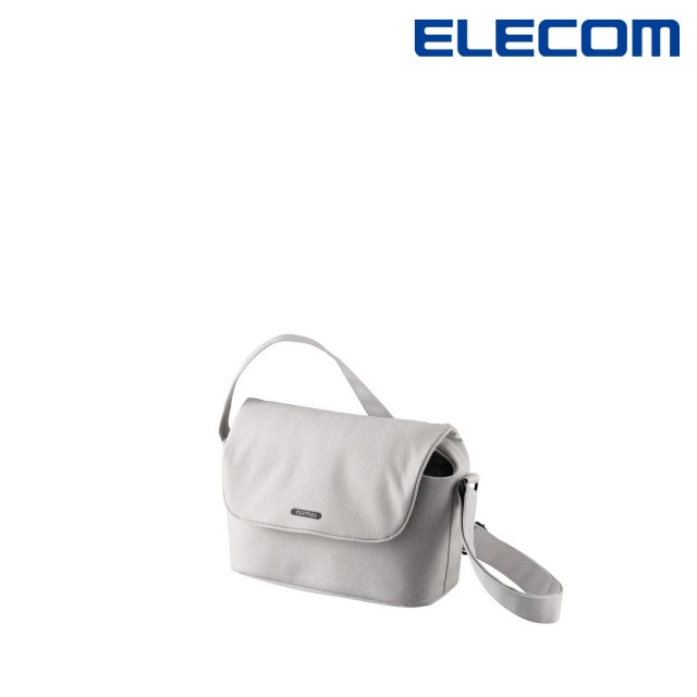 【ELECOM】normas休閒多功能側背包-灰(DGB-S031GY)