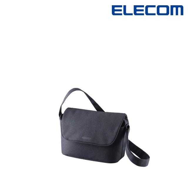 【ELECOM】normas休閒多功能側背包-黑(DGB-S031BK)