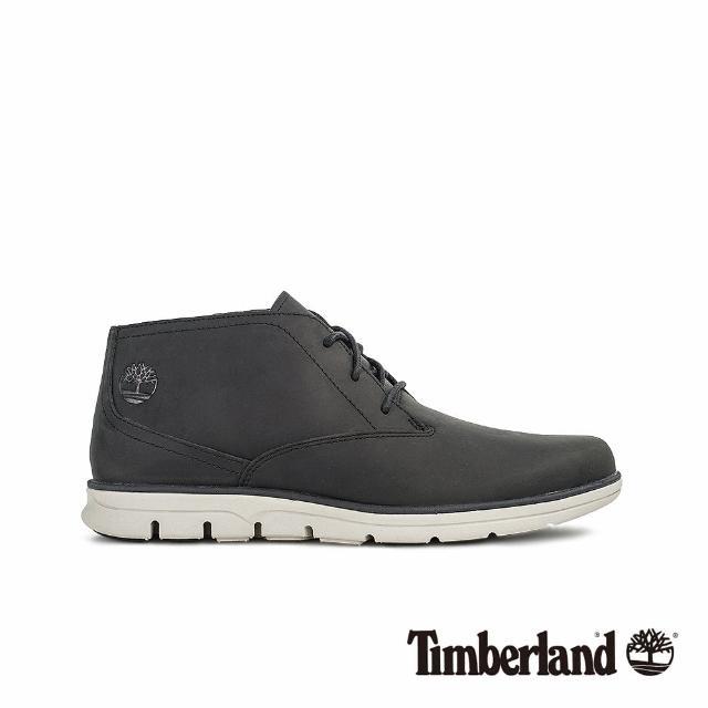 【Timberland】男款黑色經典休閒鞋(A1SRYM45)