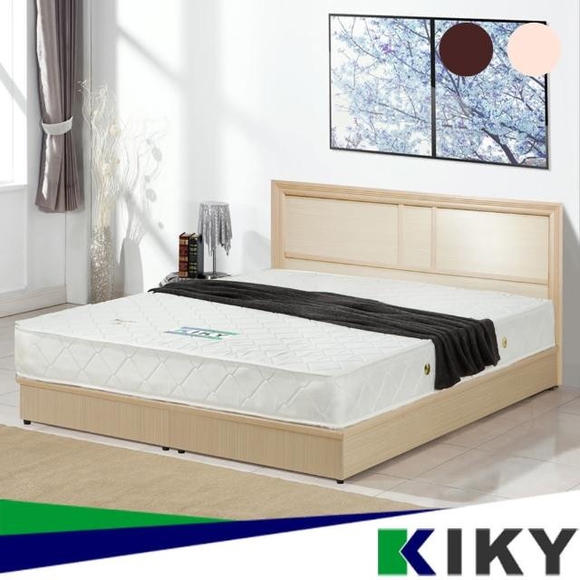 【KIKY】凱莉5尺床頭片-不含床底.床墊(兩色可選)