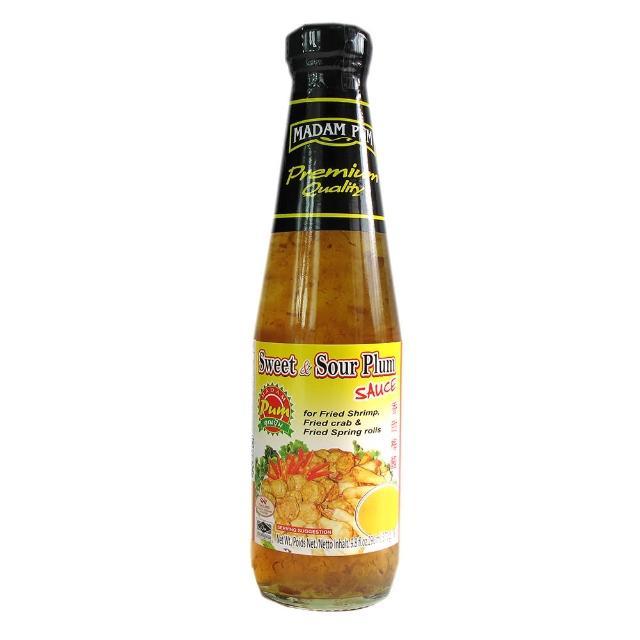 【蘋果市集】MADAM PUM月亮蝦餅沾醬/泰國梅醬(370公克/瓶)