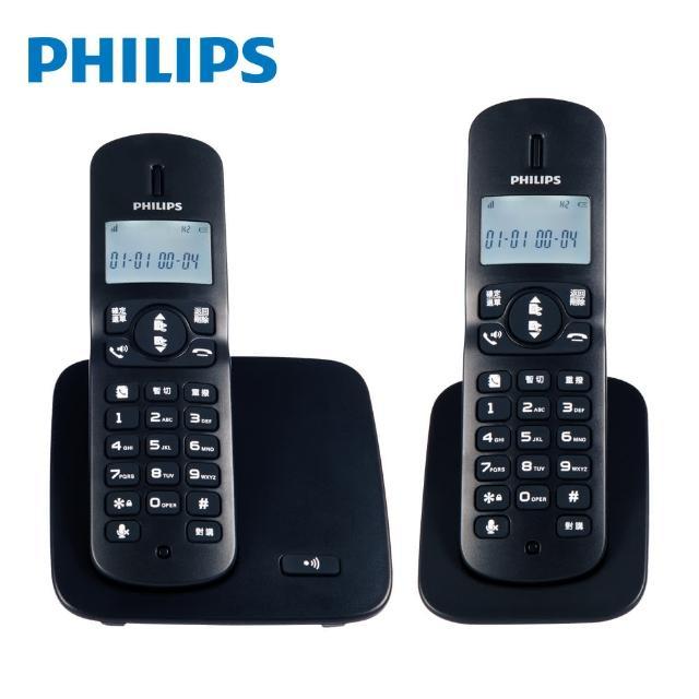 【Philips 飛利浦】2.4GHz數位無線電話DCTG1862(飛利浦無線電話)