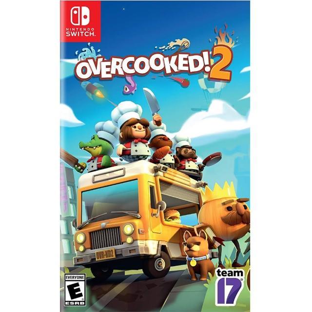 【Nintendo 任天堂】NS Switch 煮過頭 2 中英日文美版(OVERCOOKED 2)