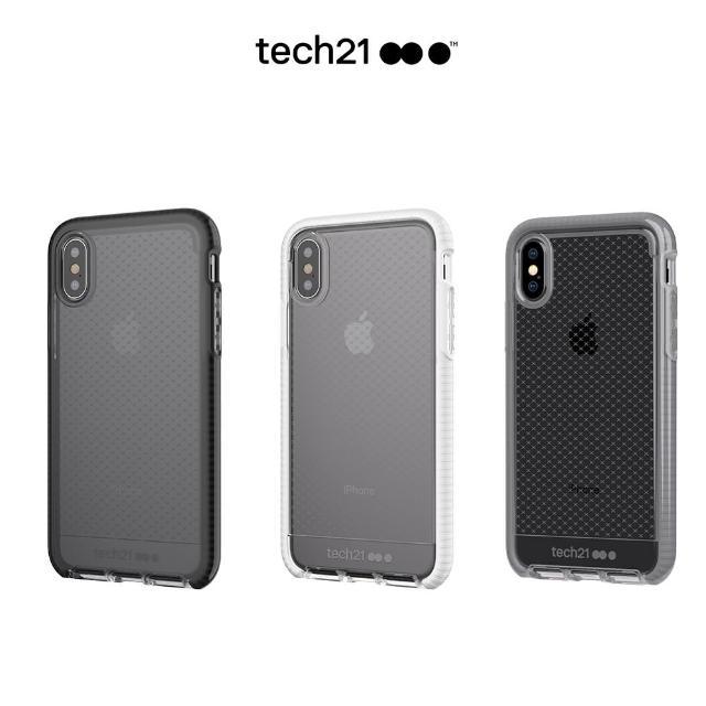 【tech21】英國Tech 21超衝擊EVO CHECK iPhone X 防撞軟質格紋保護殼(iPhone用戶獨享價)