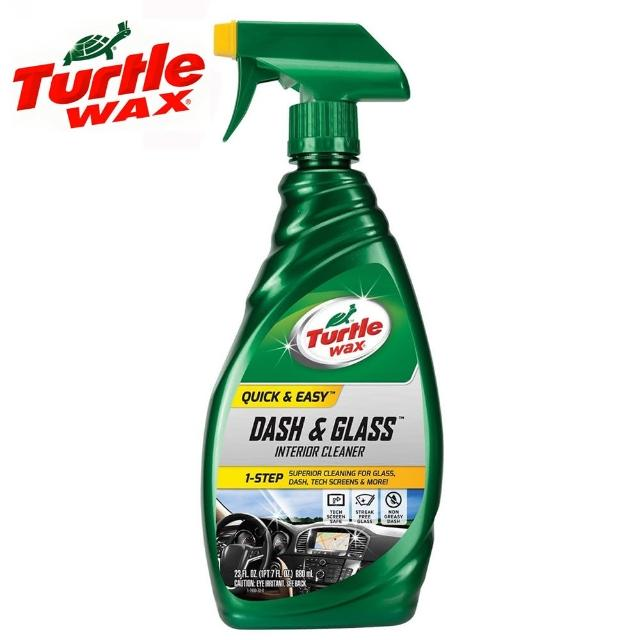 【Turtle Wax 美國龜牌】玻璃、儀表板除塵清潔劑 T930