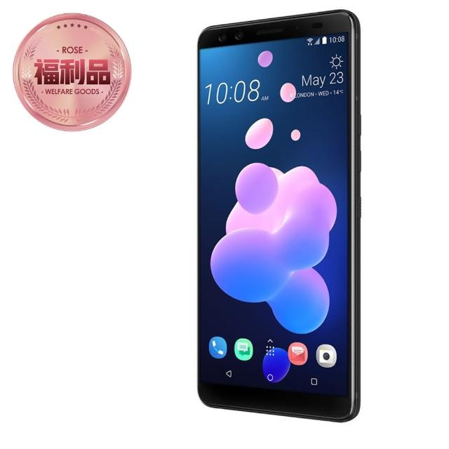【HTC 宏達電】福利品 HTC U12+ 八核心智慧型手機(6G/128G)