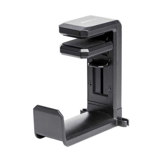 【peripower】MT-AM05 桌邊夾式頭戴型黑色耳機架/耳機收納架掛架/耳機收納(3C收納/線材收納/小物收納)