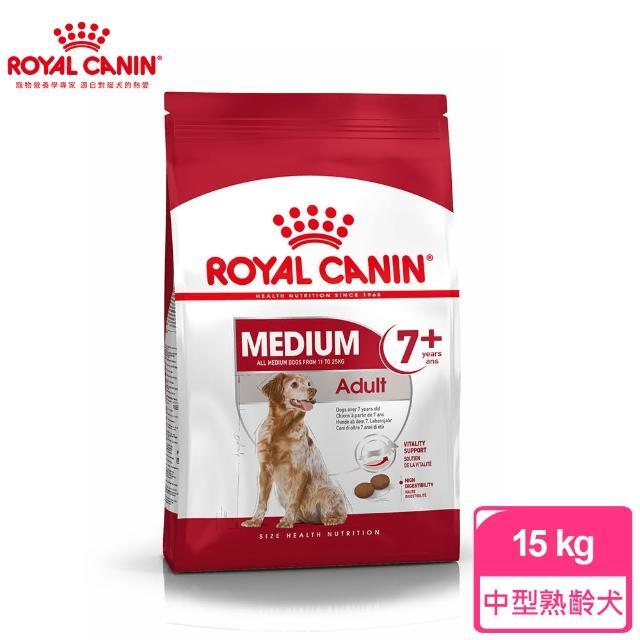 【ROYAL 法國皇家】中型熟齡犬7+專用飼料M+7 15KG