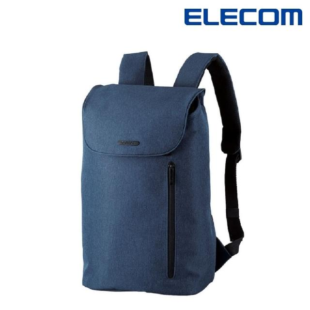 【ELECOM】normas休閒多功能後背包-海軍藍(DGB-S039NV)