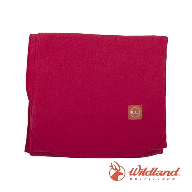 【Wildland 荒野】中性 輕柔PILE保暖圍巾-嫣紅 W2010-17(禦寒保暖/戶外休閒/保暖圍巾/輕柔圍巾/圍巾)