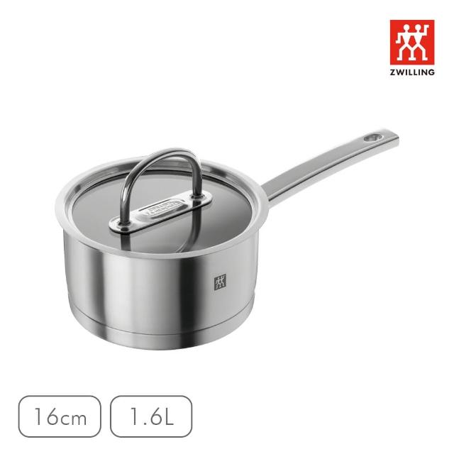 【ZWILLING 德國雙人】Prime 單柄鍋-16cm(1.6L)