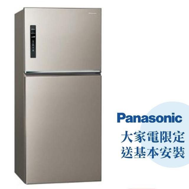 【Panasonic 國際牌】650公升一級能效雙門變頻冰箱—星耀金(NR-B659TV-S1)