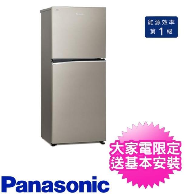 【Panasonic 國際牌】268公升二門電冰箱(NR-B270TV-S1)