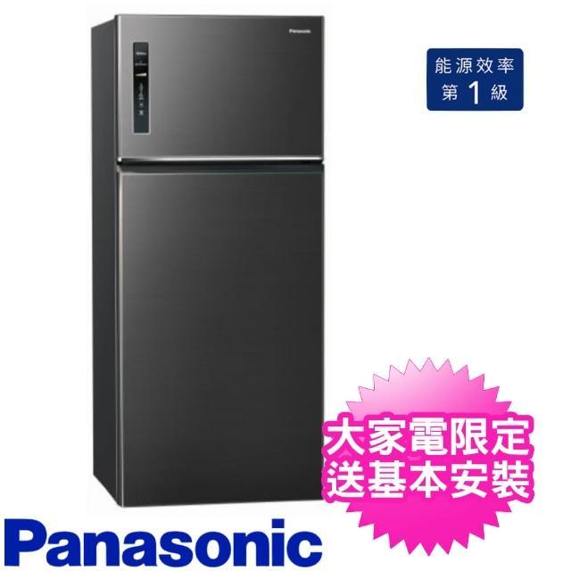 【Panasonic 國際牌】579公升二門變頻電冰箱星耀黑(NR-B589TV-A)