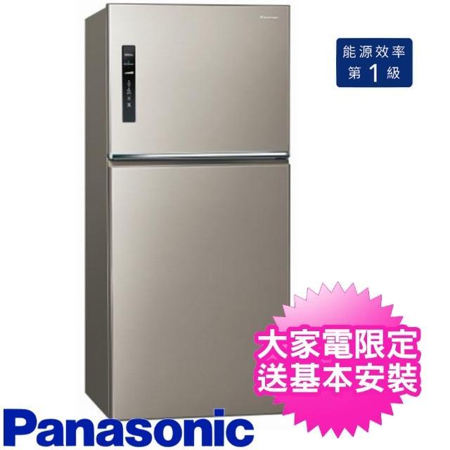【Panasonic 國際牌】650公升二門變頻電冰箱星耀金(NR-B659TV-S1)