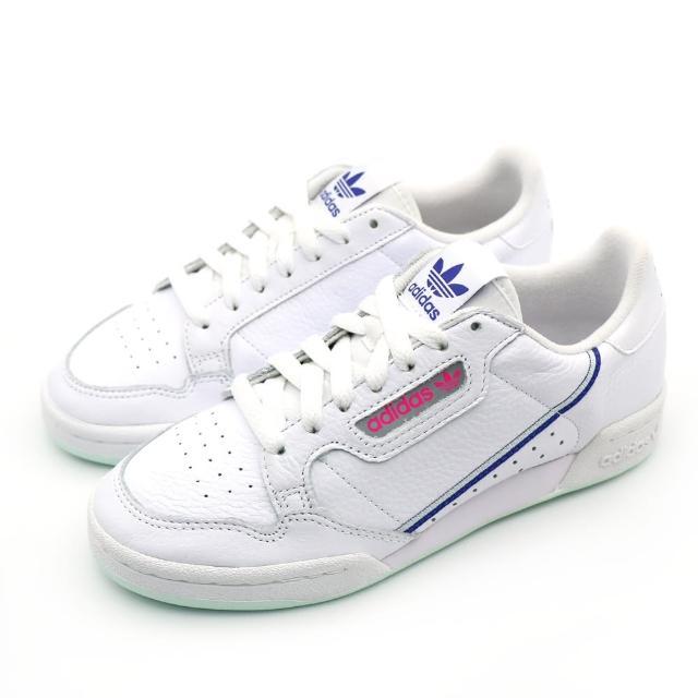 【adidas 愛迪達】CONTINENTAL 80 W 女休閒鞋 白(G27725)