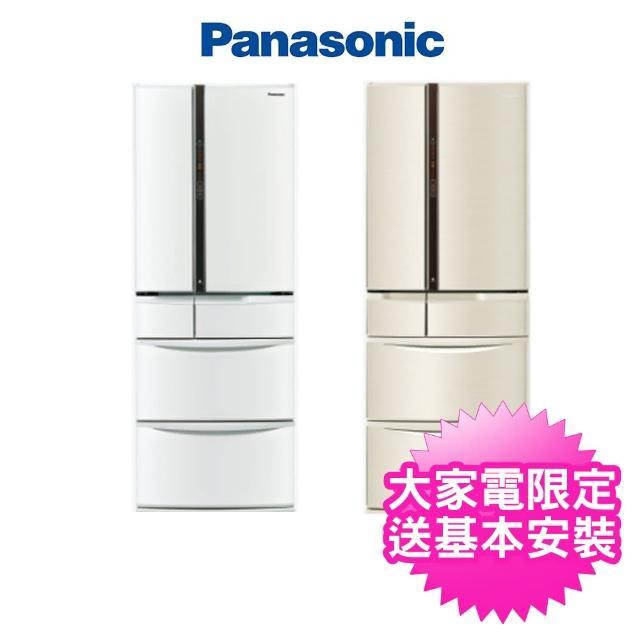 【Panasonic 國際牌】日本製501公升一級能源六門變頻電冰箱(NR-F504VT-W1/NR-F504VT-N1)