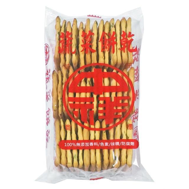【中祥】蔬菜蘇打餅乾160g