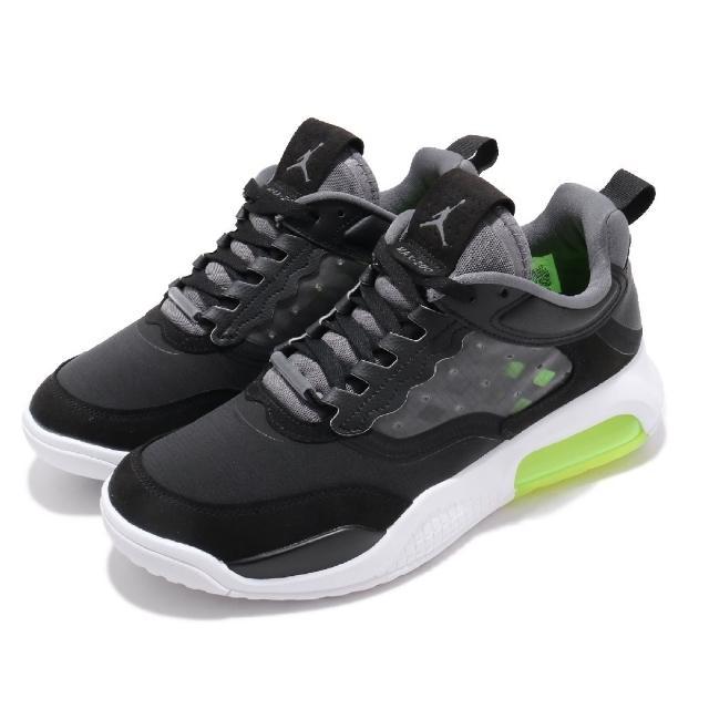 【NIKE 耐吉】休閒鞋 Jordan Max 200 運動 男鞋 氣墊 避震 喬丹 舒適 穿搭 球鞋 黑 白(CD6105-007)