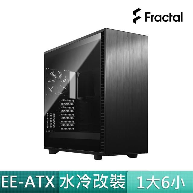 【Fractal Design】Define 7 XL Dark TG 全黑 鋼化玻璃透側電腦機殼