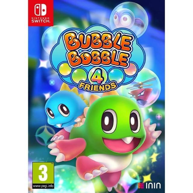 【Nintendo 任天堂】Switch 泡泡龍 4 伙伴(中文版)