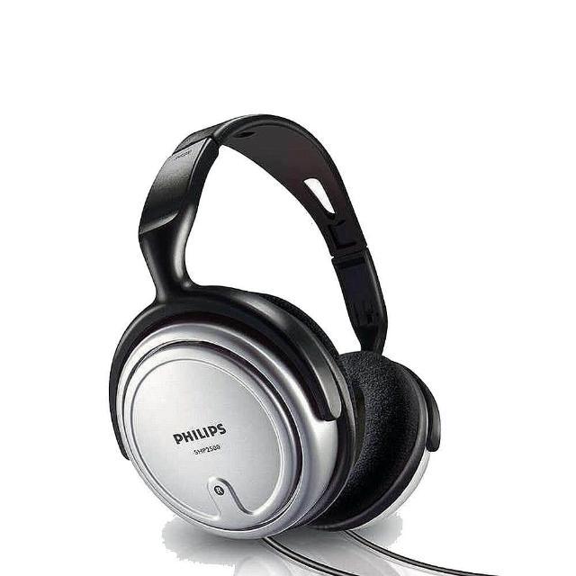 【Philips 飛利浦】視聽用無麥可調音頭戴式耳機(SHP2500)