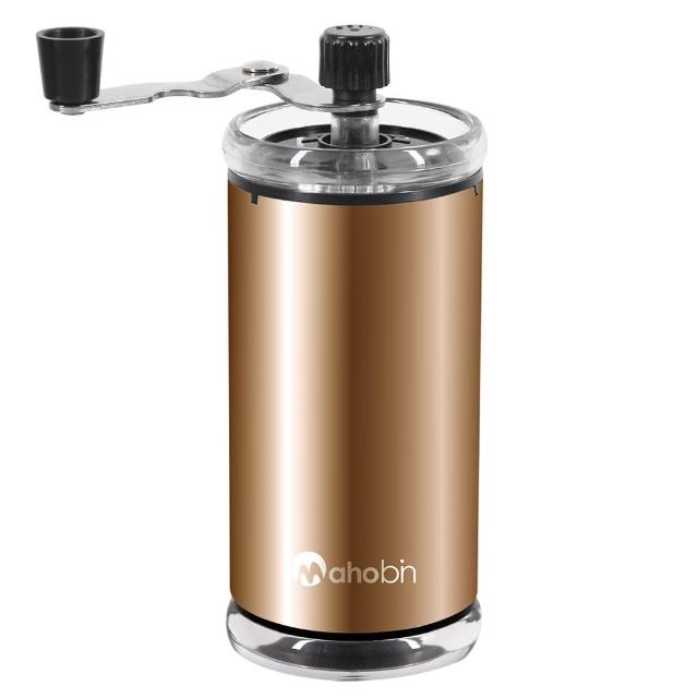 【Mahobin魔法瓶】手搖咖啡研磨機/磨豆機-(可調粗細陶瓷機芯)