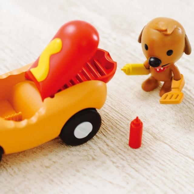 【SAGO mini】可愛熱狗車車組(玩具車)