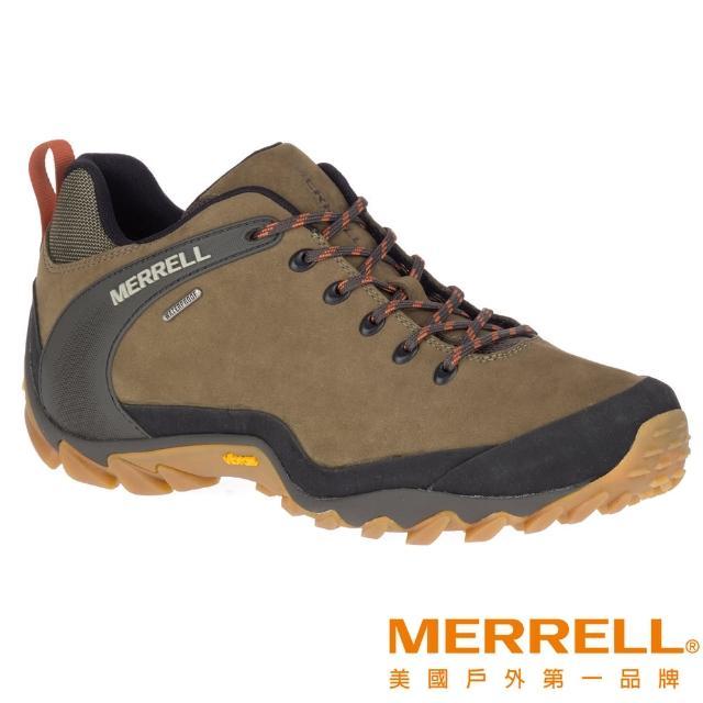 【MERRELL】CHAMELEON 8 WATERPROOF 柔軟真皮防水登山鞋(ML034171)