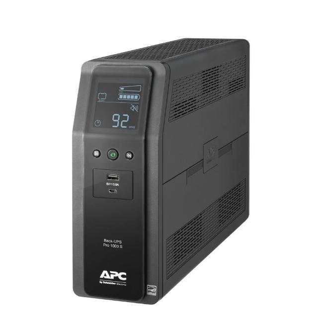 【APC】Back-UPS Pro BR1000MS-TW 1000VA在線互動式UPS
