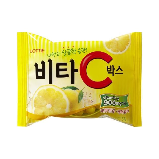 【LOTTE 樂天】Vita C 檸檬糖(17.5g/包)