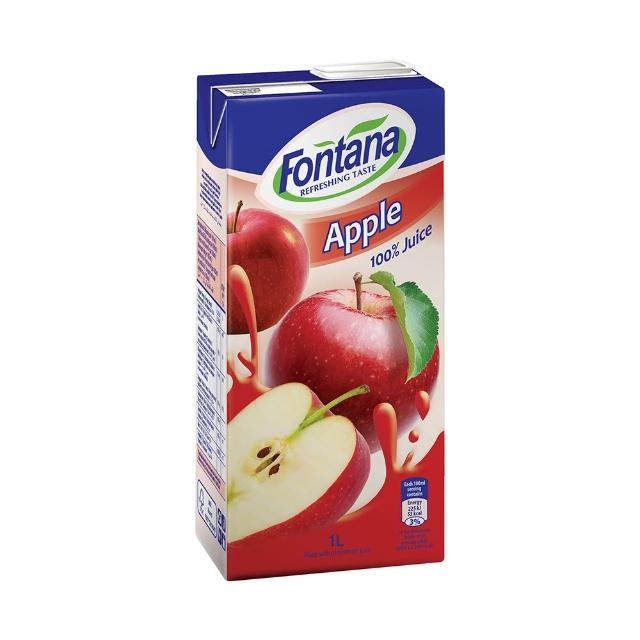 【FONTANA】蘋果汁 1公升