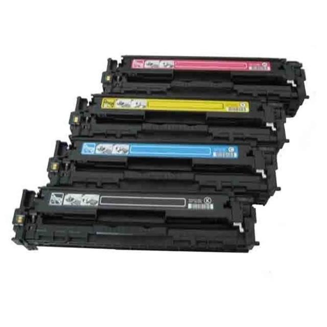 【UFOTEC】HP CB541A 藍色全新副廠碳粉匣 CP1215/CM1312/CP1515/CP1518(125A)