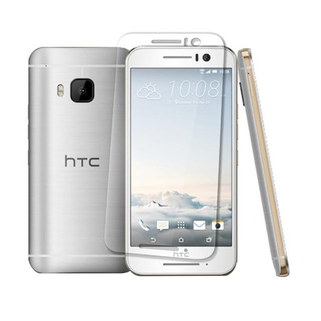 【Metal-Slim】HTC ONE S9(0.26mm厚度 9H弧邊耐磨防指紋鋼化玻璃保護貼)