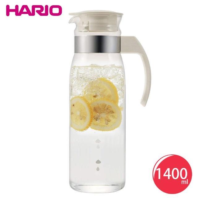 【HARIO】耐熱玻璃冷水壺1400ml-兩色(快速到貨)