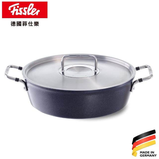 【Fissler】LUNO黑鑽鍋不沾鍋系列-烘烤鍋28CM
