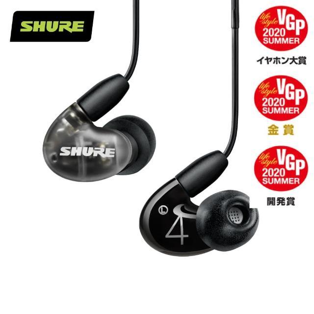 【SHURE】Aonic 4 混合發聲入耳式耳機(AONIC、混合發聲、圈鐵混合)