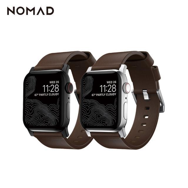 【美國NOMAD】美國NOMADxHORWEEN Apple Watch專用皮革錶帶(Series 全系列適用)