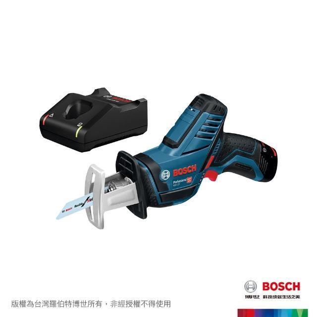 【BOSCH 博世】12V鋰電軍刀鋸 2.0Ah套裝 GSA12-LI VP