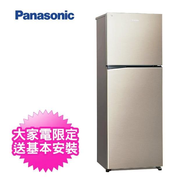 【Panasonic 國際牌】366L雙門變頻冰箱(NR-B370TV-S1 星耀金)