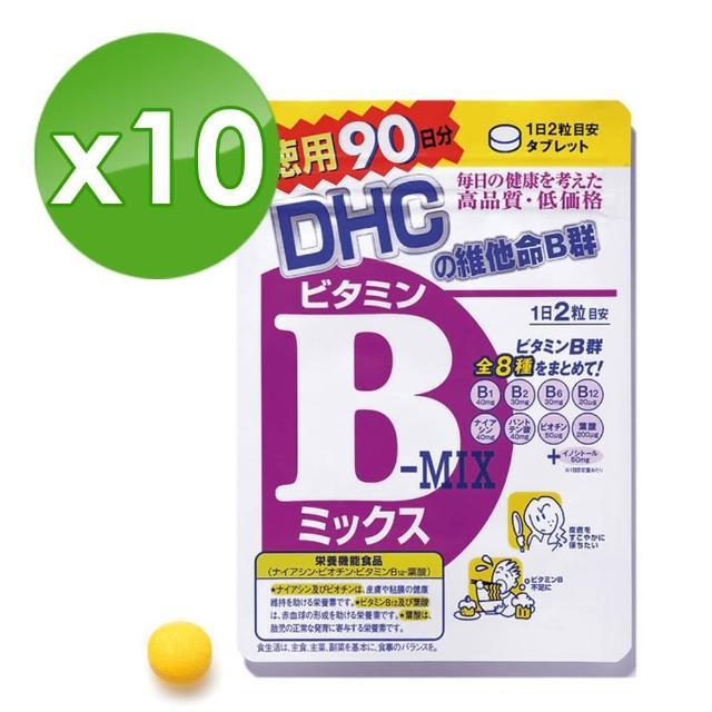 【DHC】維他命B群 90日份(180粒/包)*10包組