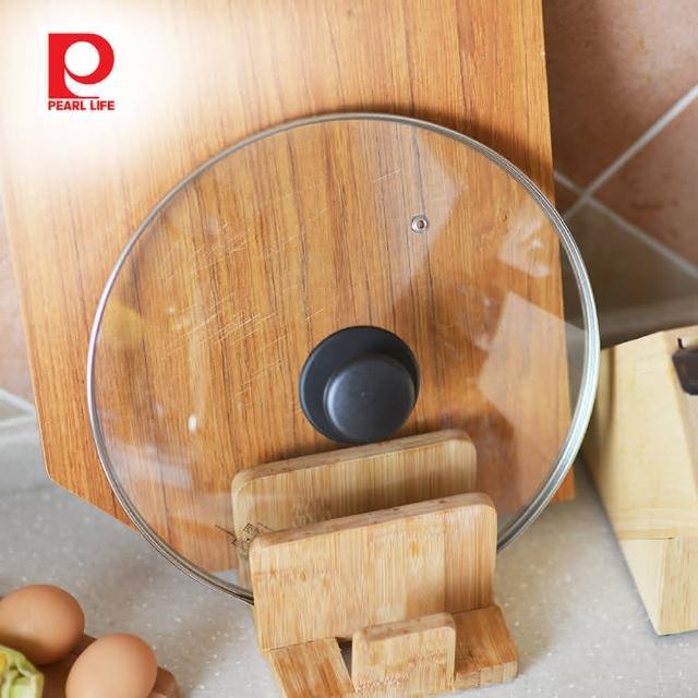 【日本珍珠金屬】耐熱玻璃鍋蓋-28cm(進口 餐廚 日系)