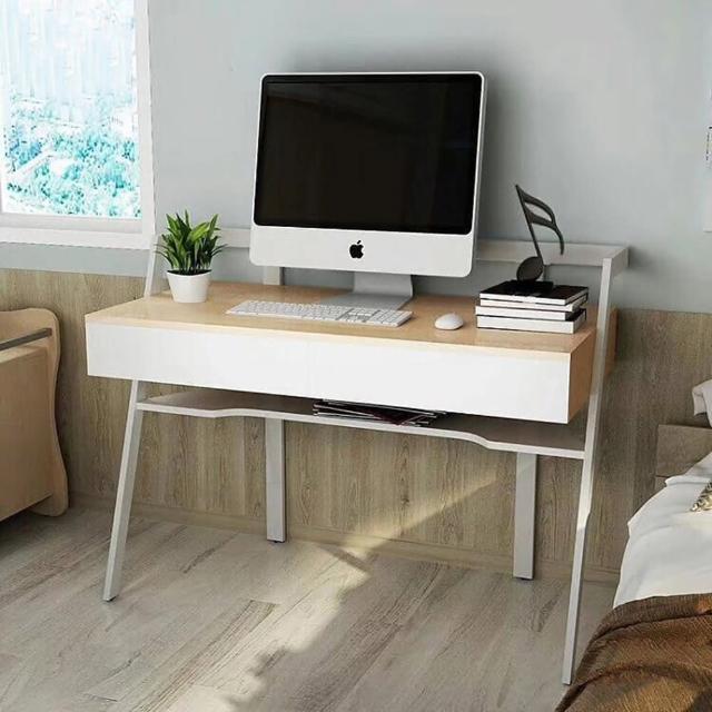 【IHouse】DIY波塞頓 熱銷斜角創意電書桌工作桌